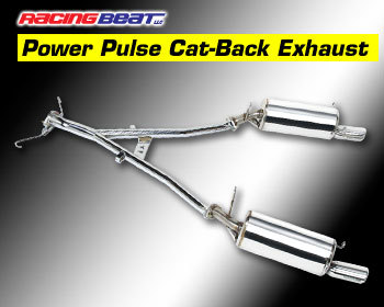 : Exhaust - Cat-Back Systems : Power Pulse RX-7 Exhaust System 87-91 TURBO II