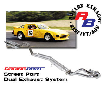 : Exhaust - Complete Systems : Street Port Exhaust System 79-85 12A