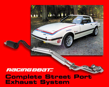 : Exhaust - Complete Systems : Street Port Exhaust System 79-85 13B
