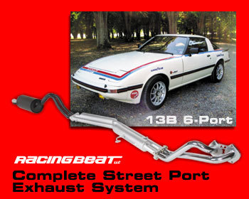 : Exhaust - Complete Systems : Street Port Exhaust System 84-85 GSL-SE