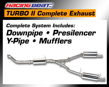 : Exhaust - Complete Systems : REV TII Exhaust System 87-91 TURBO II