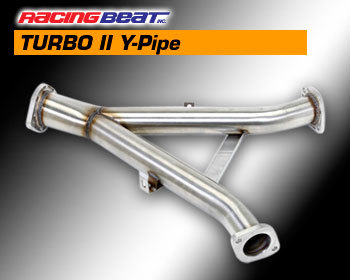 : Exhaust - Complete Systems : REV TII Y-Pipe 87-91 RX-7 TURBO II