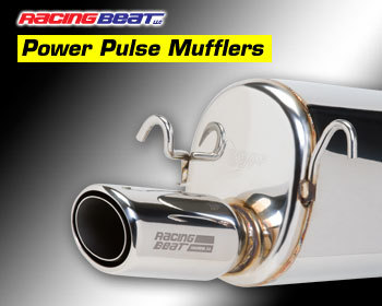 : Exhaust - Cat-Back Systems : Power Pulse Muffler - Right 86-92 Turbo