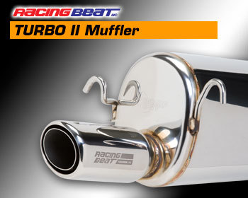 : Exhaust - Complete Systems : REV TII Muffler - Right 87-91 Turbo II