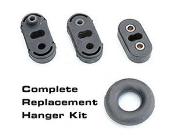 : Exhaust - Hangers : Complete Exhaust Hanger Kit 86-92 ALL (MT)