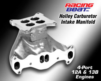 : Intake - Holley Components : Holley Intake Manifold 74-78 13B Bridge Port