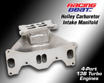 : Intake - Manifolds &  Cover Plates : Holley Intake Manifold 87-91 TURBO II