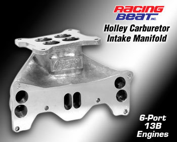 : Intake - Holley Components : Holley Intake Manifold 84-92 13B 6-Port Engine