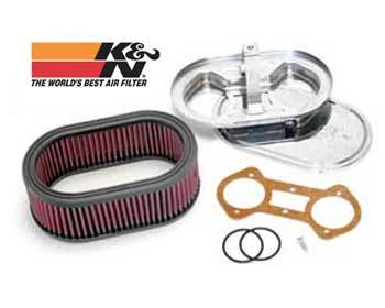 : Intake - Weber : K/N Air Filter Assembly  Weber 48/51 IDA
