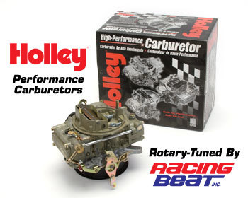 : Intake - Holley Components : Holley Carburetor 74-85 13B 4-Port Bridgeport