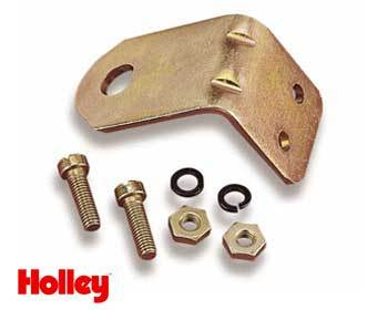 : Intake - Holley Components : Holley Choke Cable Mounting Bracket