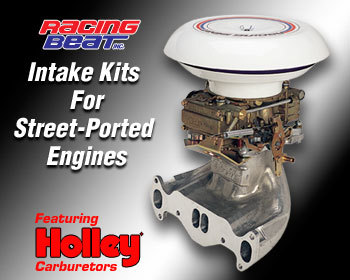 : Intake - Holley Kits : Holley Intake Kit 74-85 13B 4-Port Street Port