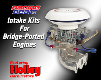 : Intake - Holley Kits : Holley Intake Kit 74-85 13B Bridge Port
