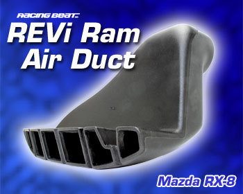 : Intake - Kits/Air Filters : REVi Ram Air Duct 04-08 RX-8