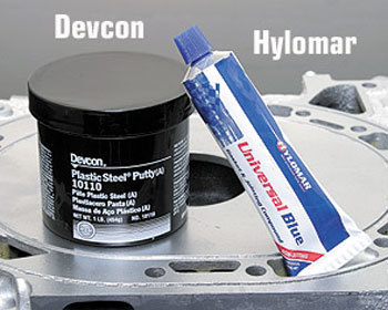 : Engine - External : Devcon Plastic Putty Aluminum