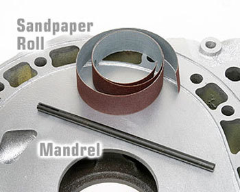 : Engine - Porting & Assembly  Tools : Sandpaper Strip 220 Fine Grit - Roll