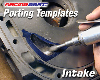 : Engine - Porting & Assembly  Tools : Porting Template J-Bridge Intake Port 12A & 13B