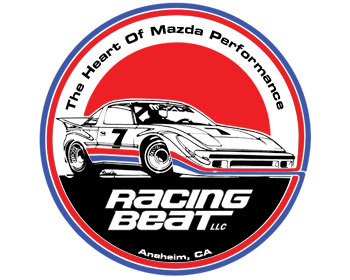 : Decals & Promo Items : Decal - 5-inch Round Racing Beat IMSA GTU RX-7