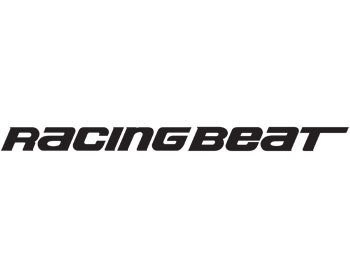 : Decals : Racing Beat Logo 1x10 Black