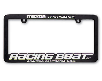 : Decals & Promo Items : Racing Beat License Plate Frame