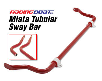 : Suspension - Sway Bars : Sway Bar - Tubular - Front 90-93 Miata