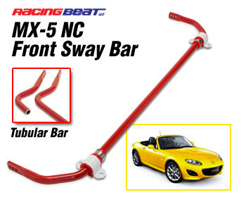 : Suspension - Sway Bars : Sway Bar - Tubular - Front 06-12 MX-5