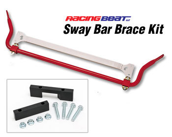 : Suspension - Sway Bars : Sway Bar Brace Kit 90-95 Miata with power steering