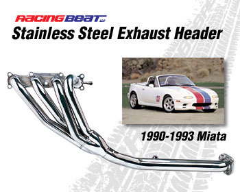 : Exhaust - Headers : Miata Header 90-93 Miata