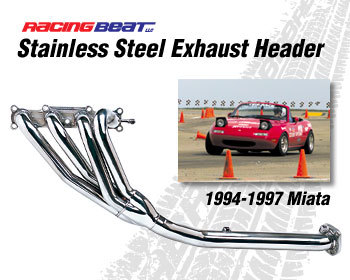 : Exhaust - Headers : Miata Header 94-97 Miata