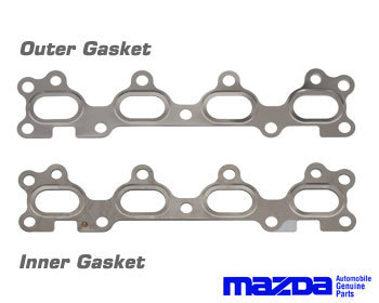 : Exhaust - Gaskets : Header Gasket (Inner Single Layer)  90-93 Miata