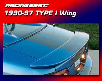 : Body - Aero Components : Type I Rear Wing 90-97 Miata