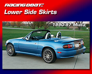 : Body - Aero Components : Lower Side Skirts  90-97 Miata