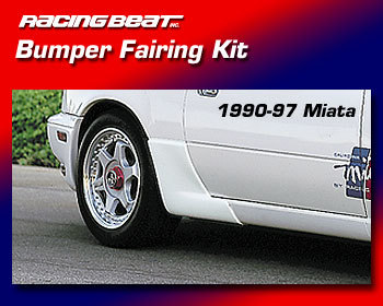 : Body - Aero Components : Rear Fairing Kit  90-97 Miata