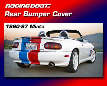 : Body - Aero Components : Rear Bumper Kit  90-97 Miata