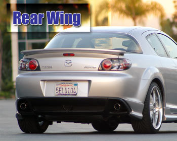 : Body - Aero Components : Rear Wing 04-09 RX-8