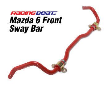 : Suspension - Sway Bars : Sway Bar - Front 03-08 Mazda 6 (except 06-08 V6)