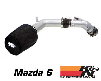 : Intake - Kits/Air Filters : K/N Typhoon Air Intake 03-06 Mazda 6 - 2.3 L