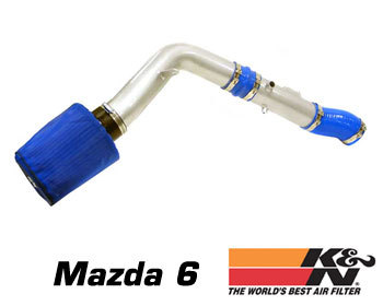: Intake - Kits/Air Filters : K/N Typhoon Air Intake 03-07 Mazda 6 V-6