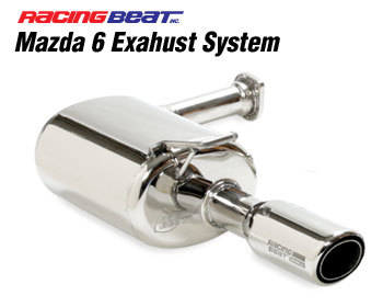 : Exhaust - Cat-Back Systems : Power Pulse Exhaust System 03-08 Mazda 6 Sedan/Hatchback