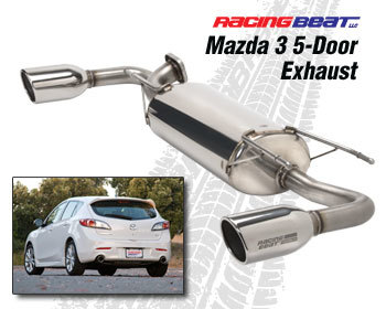 : Exhaust - Cat-Back Systems : Exhaust System - Sedan 2010-13 Mazda 3s 2.5L