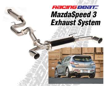 : Exhaust - Cat-Back Systems : MazdaSpeed 3 Exhaust System 2010-13 MS3