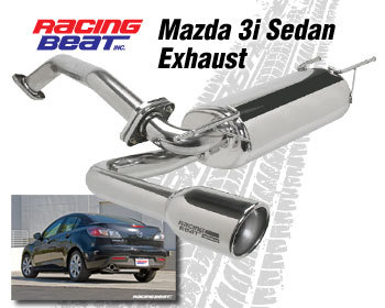 : Exhaust - Cat-Back Systems : Exhaust System (2.0 ltr) Sedan 2010-13 Mazda 3i (except Skyactiv)