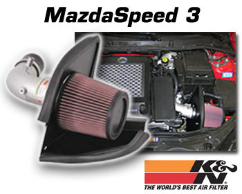 : Intake - Kits/Air Filters : K/N Typhoon Air Intake 07-09 Mazdaspeed 3