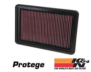Mazda Protege Performance Parts : Intake - Kits/Air Filters : K/N Air Filter Element 95-03 Protege - All