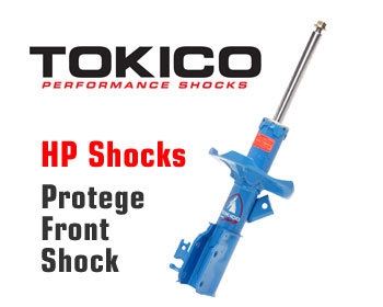 Mazda Protege Performance Parts : Suspension - Shocks : Tokico Shock HP - Front Right 99-03 Protege, MPS, MP3, Protege 5