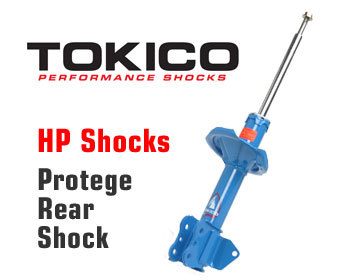 Mazda Protege Performance Parts : Suspension - Shocks : Tokico Shock HP - Rear Right 99-03 Protege, MPS, MP3, Protege 5
