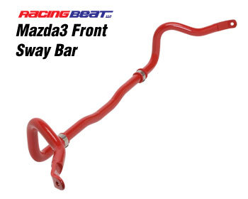 : Suspension - Sway Bars : Sway Bar - Front 2010-12 Mazda 3 2.5L