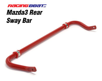 : Suspension - Sway Bars : Sway Bar - Rear 2010-13 Mazda 3 2.5L/2.0L
