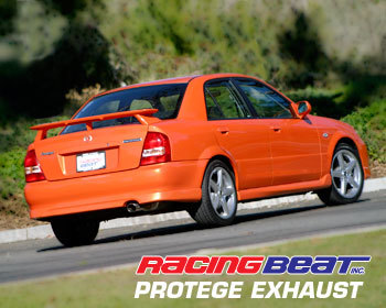 Mazda Protege Performance Parts : Exhaust - Cat-Back Systems : Exhaust System  Sedan LX 2.0/ 01-03 2.0