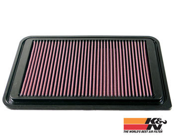 : Intake - Kits/Air Filters : K/N Replacement Panel Filter Mazda2